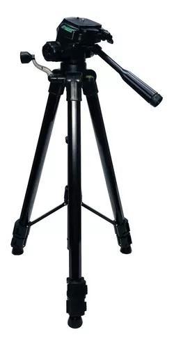 Tripé universal fotográfico profissional 1.80m preto n f