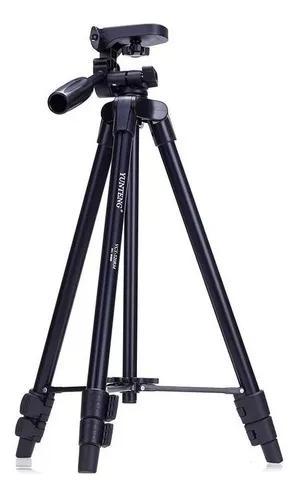 Tripé universal fotográfico profissional nikon canon 1,30