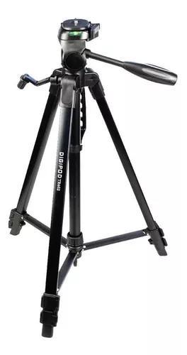 Tripe digipod tr 682 1,80m camera filmadora c/ bolsa