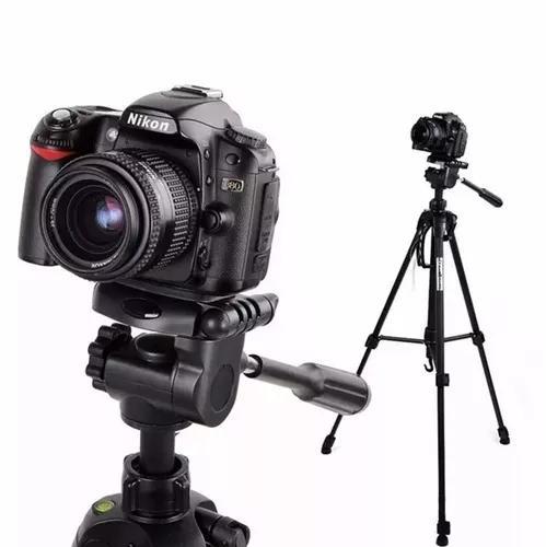 Tripe profissional 180 cm video foto + bolsa