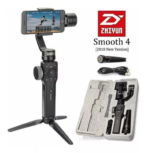 Zhiyun-tech smooth 4 smartphone gimbal (preto)