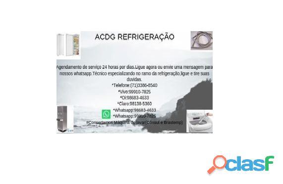 Acdg Refrigeração conserto de freezer e etc...Salvador Bahia