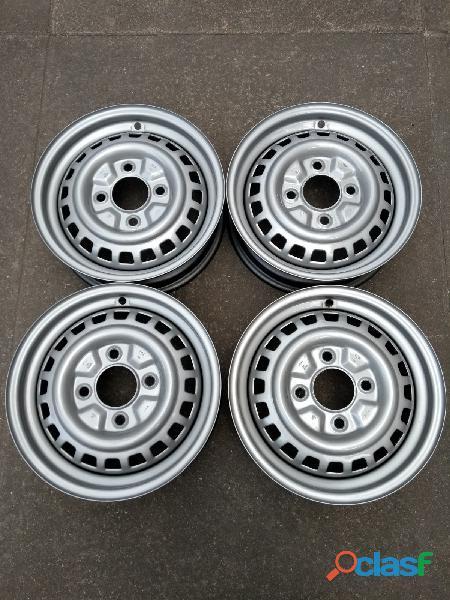 Fusca volkswagen 1991 itamar jogo roda rodas ferro aro 15 genuinas coleção