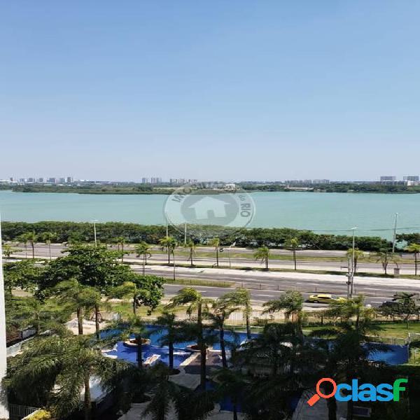 Apartamento 96,91m², 3 quartos, Front Lake - Barra da Tijuca