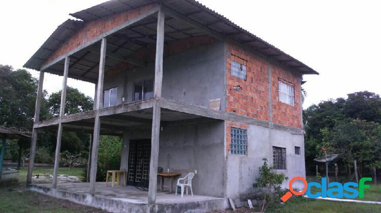 Vendo excelente Sitio no Rio Preto da Eva - Manaus Amazonas - Am 1
