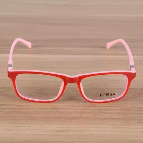 Armação óculos de grau infantil leve flexível crianças