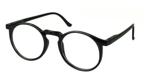 Armação óculos grau masculino redondo geek original 62019