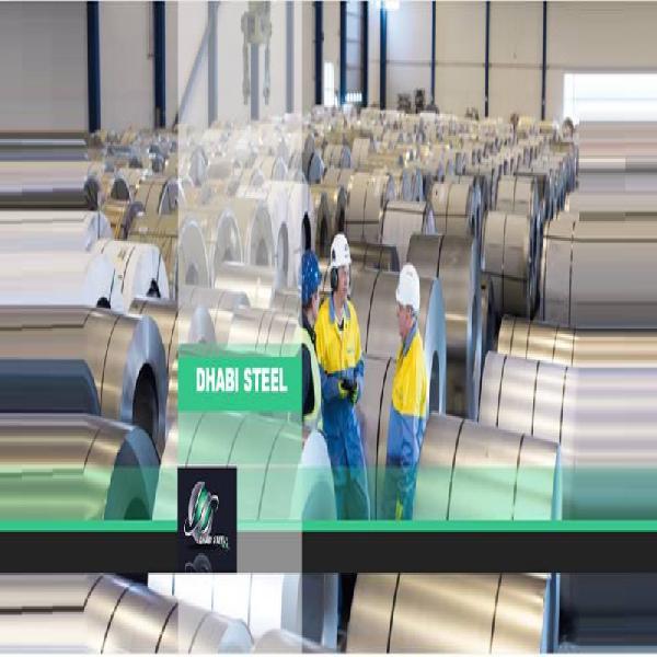 Dhabi steel bobinas de aço plano