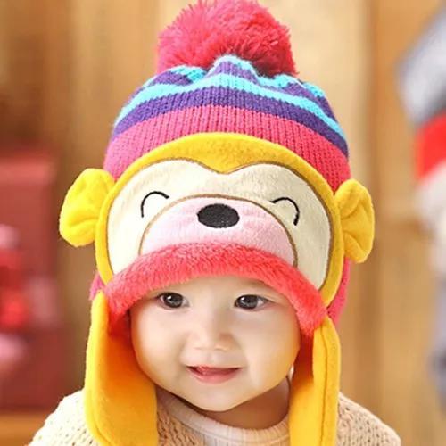 Gorro touca infantil infantil - gorro para criança inverno