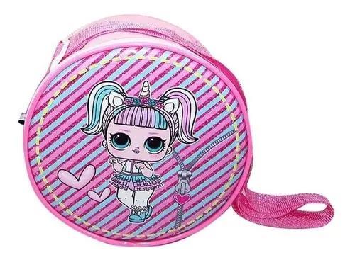 Kit 10 bolsa tiracolo infantil minie frozen princesa atacado