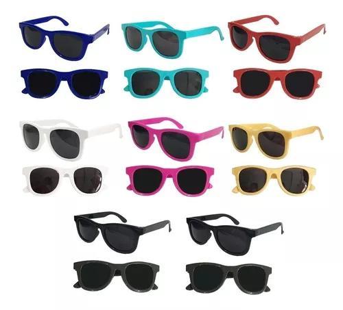 Kit 10 óculos sol infantil criança uv400 promoção