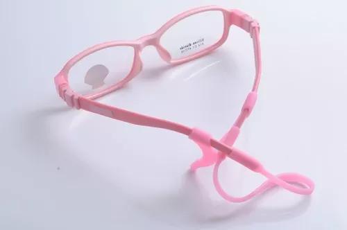 Kit de óculos para criança menina menino prendedor de