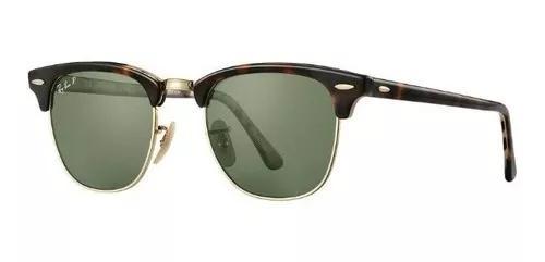 Oculos de sol ray ban clubmaster rb3016 tartaruga g15