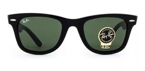 Culos ray ban wayfarer rb2140 verde g15 masculino f
