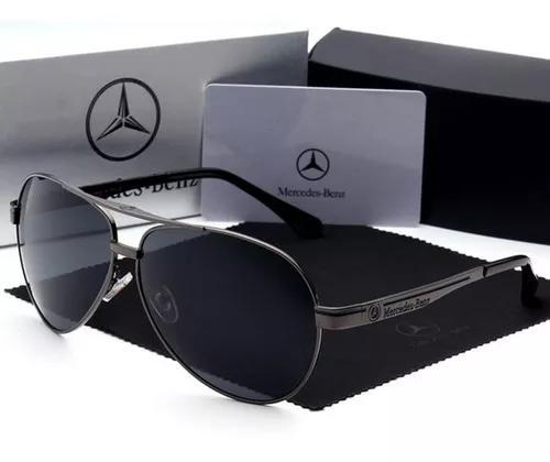 culos Sol Masculino Polarizado Mercedes Benz Frete Grátis