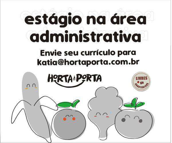 Estagiário área administrativa