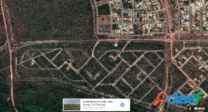 Terreno multifamiliar a venda em Palmas, 2.250m², R$ 219 mil 2