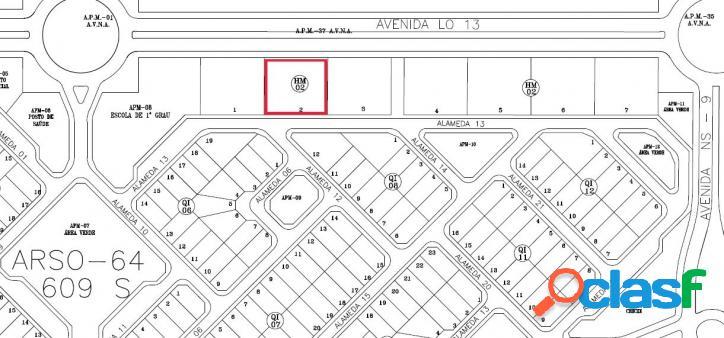 Terreno multifamiliar a venda em Palmas, 2.250m², R$ 219 mil 3