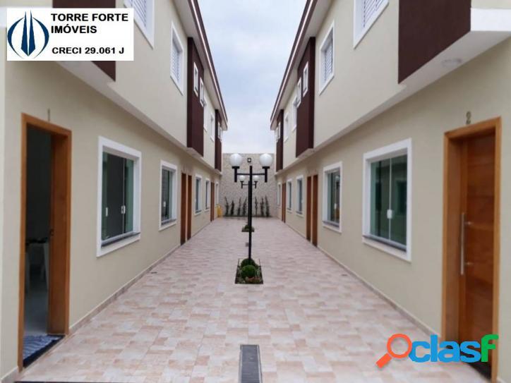 Uma linda casa condominio fechado com 2 suites no b. sapopemba. 1 vaga!