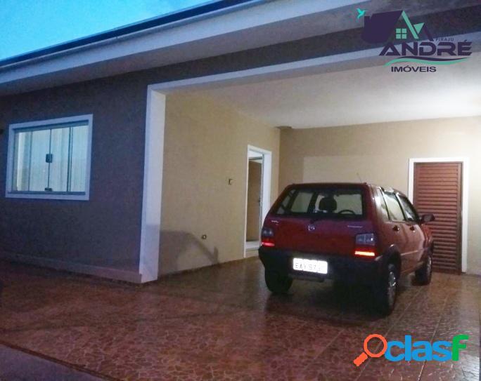 Casa, 3 dormitórios, 160m², no jardim ana carolina, piraju/sp