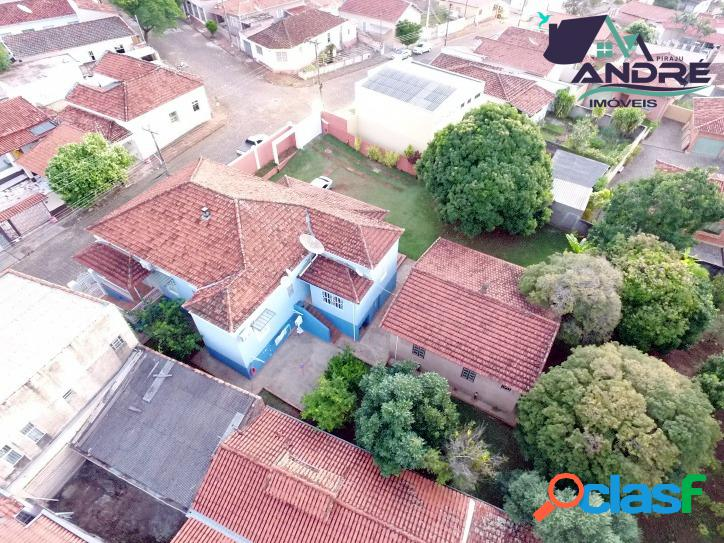 Casa, 4 dormitórios, 278m², no centro, piraju/sp.
