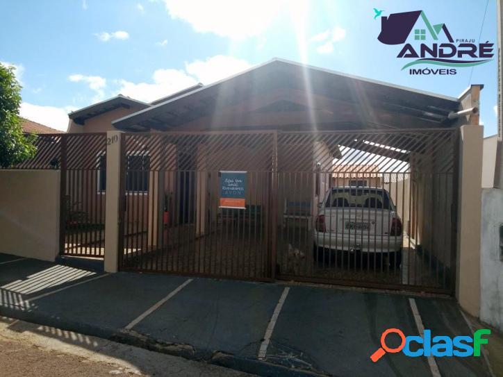 Casa, 3 dormitórios, 78m², no Jardim Ana Carolina II, Piraju/SP 1