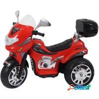Moto elétrica infantil 12v à bateria - red