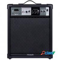 Caixa de som amplificada 80w bluetooth usb sd fm c