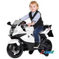 Mini moto brinquedão bmw 6v bull kids preto/branc