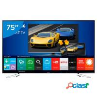 Smart tv 75 samsung full hd hdmi usb wifi hd game