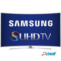Smart tv 78 samsung 3d curva ultra hd 4k wifi hdmi