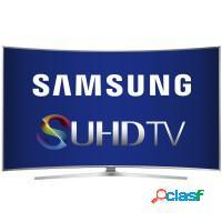 Smart tv 88 samsung 3d curva ultra hd 4k wifi hdmi