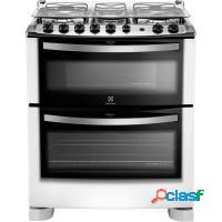 Fogao electrolux 5 bocas forno c/ grill tripla cha