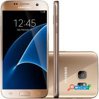Smartphone samsung galaxy s7 4g 32gb tela 5.1 andr