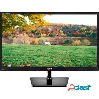 Monitor led 19 lg hd widescreen black piano