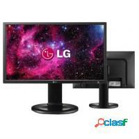 Monitor led 19 lg widescreen c/ ajuste altura