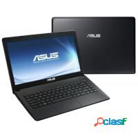 Notebook asus amd dual core 2gb ram hd 320gb tela