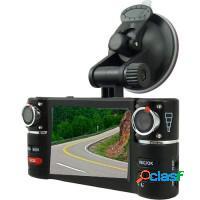 Câmera de segurança automotiva dupla cam filmado