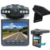 Câmera de segurança automotiva filmadora lcd 2.5
