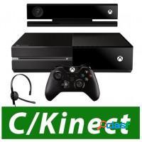 Console xbox one 500gb + kinect + controle wirele
