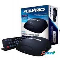 Conversor digital gravador aquario full hd dtv