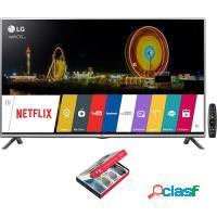 Smart tv 3d 49 led lg full hd hdmi usb wifi conver