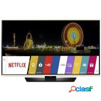 Smart tv 49 led lg full hd hdmi usb wifi conversor
