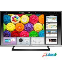 Smart tv 55 4k panasonic led quad core wifi hdmi u