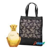 Kit o boticário gold floratta + bolsa personaliza