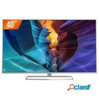 Smart tv 40 led philips hdmi usb wifi conversor fu