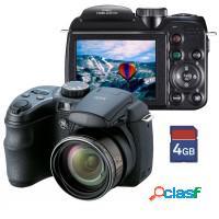 Câmera digital semi profissional ge 14.1mpx optic