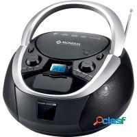 Cd player rádio fm mondial c/ usb