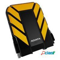 Hd externo 500gb adata usb 3.0 robotline - amarelo