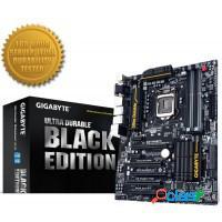 Placa mãe gigabyte lga 1150 black edition p/ inte